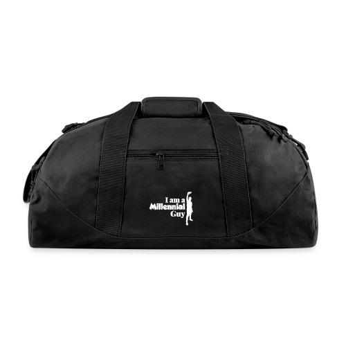 logo I Am a Millinieal Guy - Duffel Bag