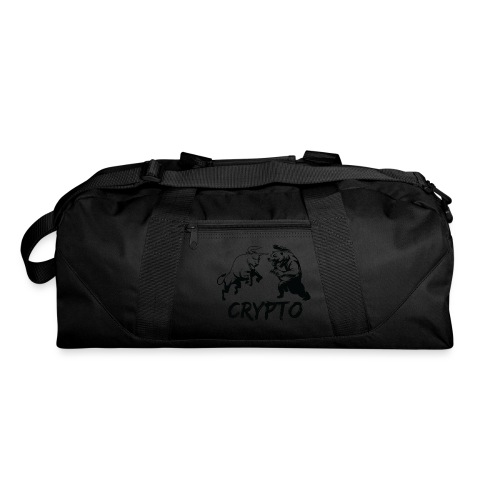 CryptoBattle Black - Duffel Bag