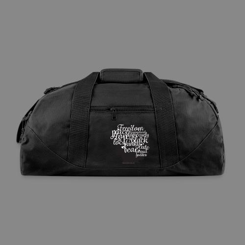 Afro Text II - Duffel Bag