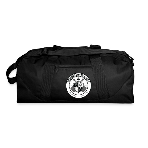 Looking For Heather - Crest Logo - Duffel Bag