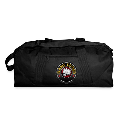 Men's Game Edged Logo Tshirt with So Be It On the - Duffel Bag
