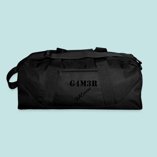 Gamer Mom (black) - Duffel Bag