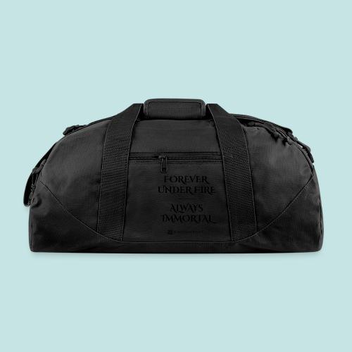 Always Immortal (black) - Duffel Bag