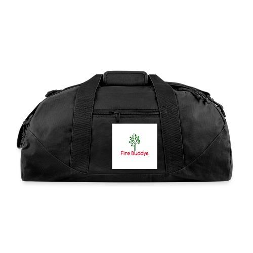 Fire Buddys Website Logo White Tee-shirt eco - Duffel Bag