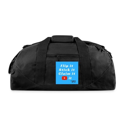 Flip It Blue Back Flip T-shirt - Duffel Bag