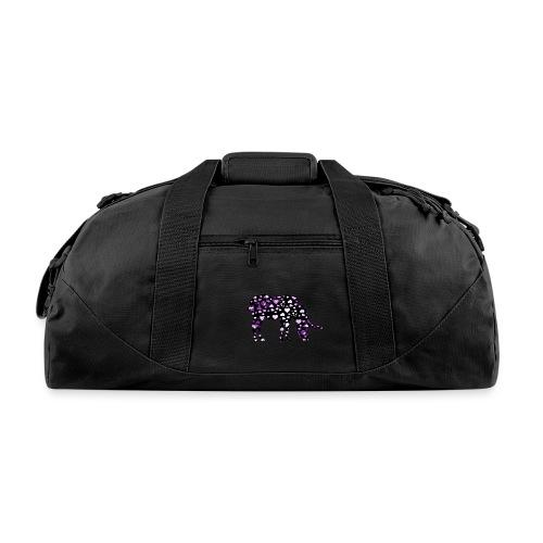 Unicorn Hearts purple - Duffel Bag