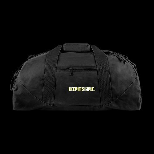 Keep It Simple - Duffel Bag