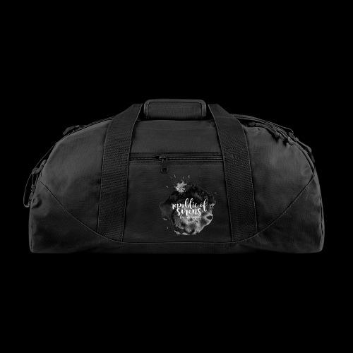 ROS FINE ARTS COMPANY - Black Aqua - Duffel Bag