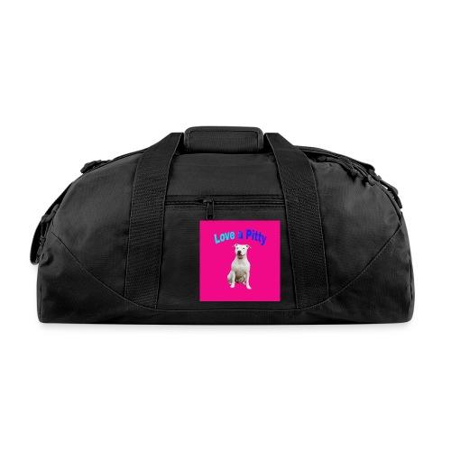 Pink Pit Bull - Duffel Bag