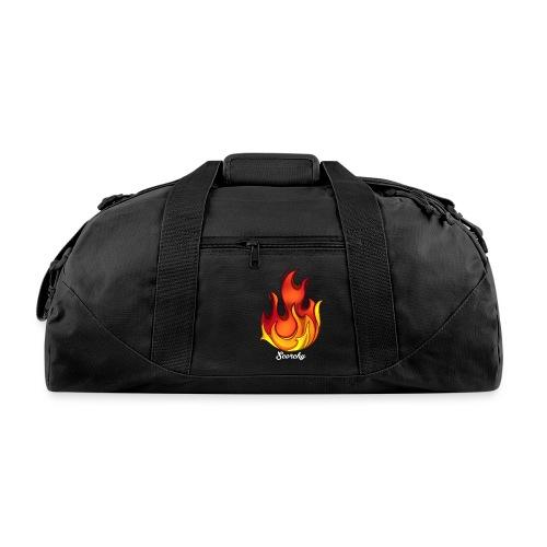Scorchy White Logo - Duffel Bag