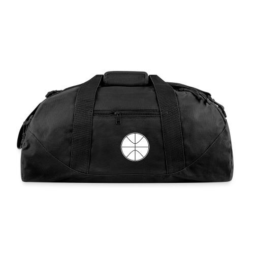 Basketball black and white - Duffel Bag