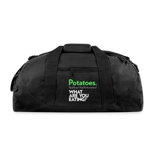 Potatoes. Real Food. Real Performance. - Duffel Bag