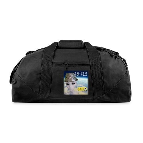 Tin Foil Hat Time (Earth) - Duffel Bag