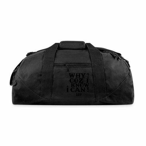 Kids and Babies Positive Affirmation Logo 187 Gear - Duffel Bag