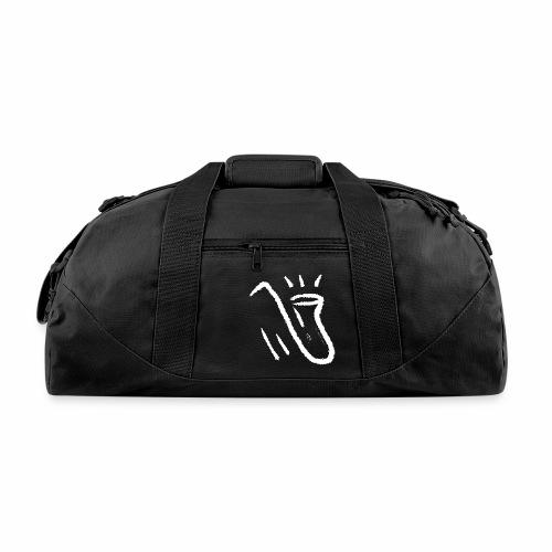Saxophone white - Duffel Bag