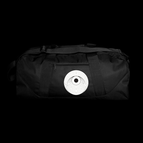 Black Dirt Vortex Logo Light - Duffel Bag