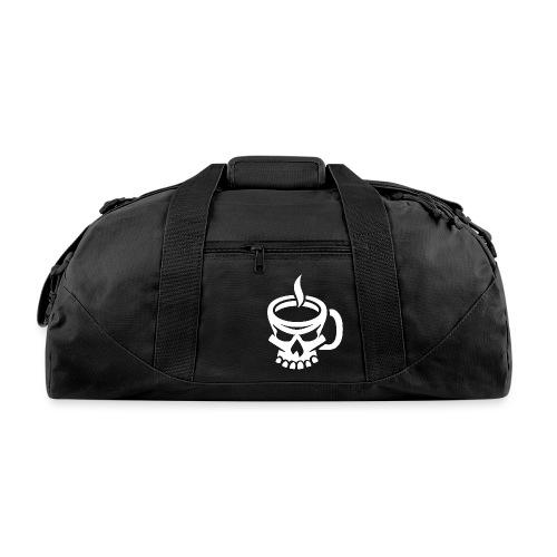 Caffeinated Coffee Skull - Duffel Bag