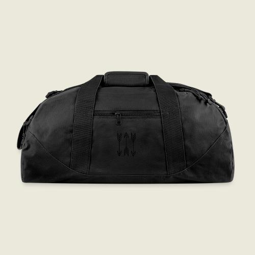 arrow symbols - Duffel Bag