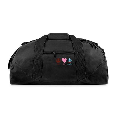 peacelovecupcakes pixel - Duffel Bag