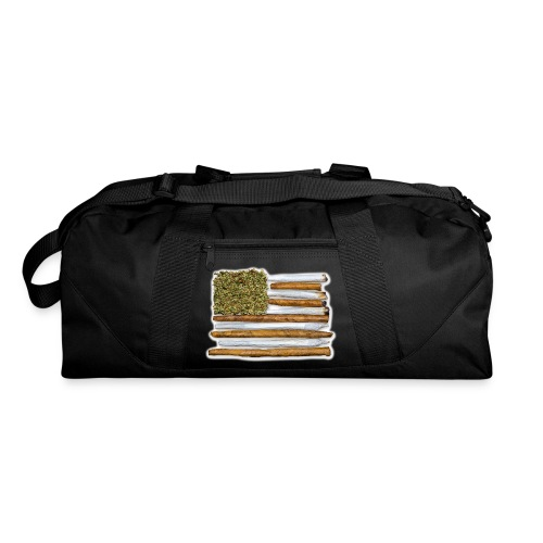 American Flag With Joint - Duffel Bag