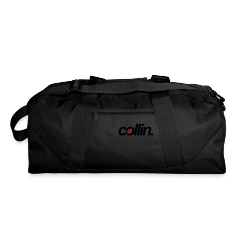 Collin. (Black w/ Rose) - Duffel Bag