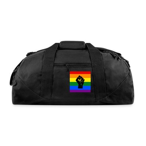 BLM Pride Rainbow Black Lives Matter - Duffel Bag
