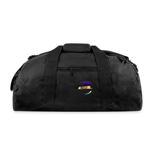 living my best life - Duffel Bag