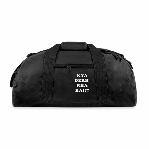 Kya Dekh Raha Hai - Duffel Bag