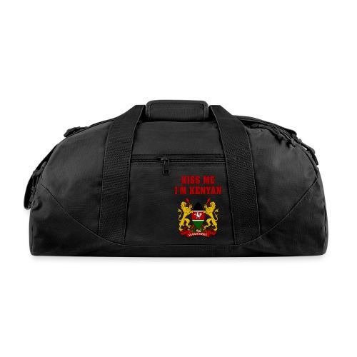 Kiss Me, I'm Kenyan - Duffel Bag