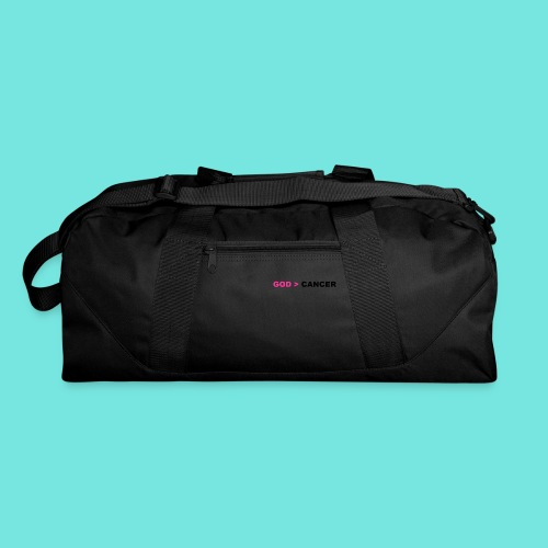 GOD IS GREATER THAN CANCER - Duffel Bag