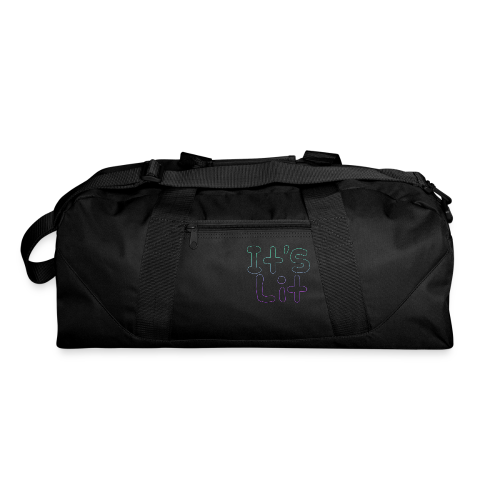 2-Tone It's Lit! Design - Duffel Bag