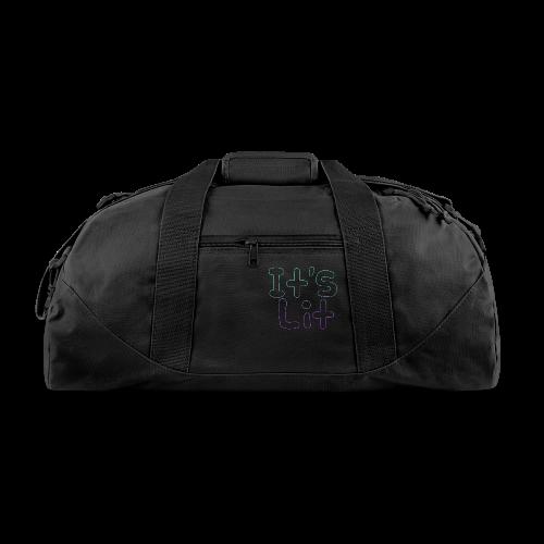 2-Tone It's Lit! Design - Duffel Bag