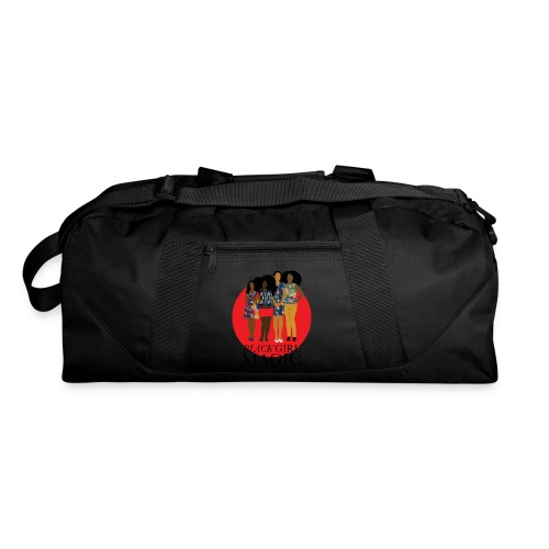 Red Pink Black girl Magic Design 2 - Duffel Bag