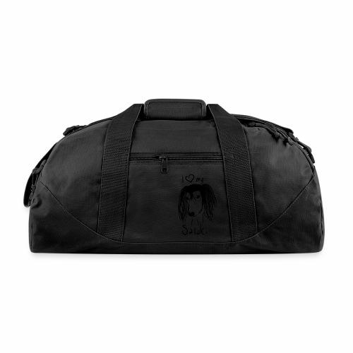 I love my saluki - Duffel Bag