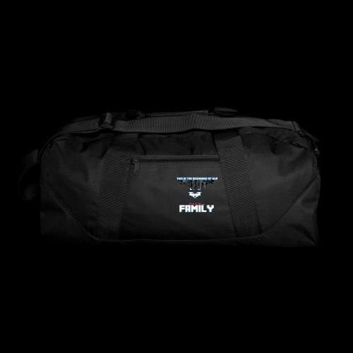 We Are Linked As One Big WolfPack Family - Duffel Bag