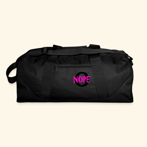 nope to O - Duffel Bag