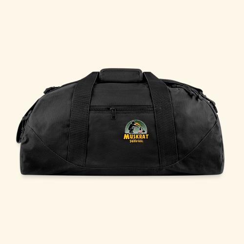 Muskrat round logo - Duffel Bag