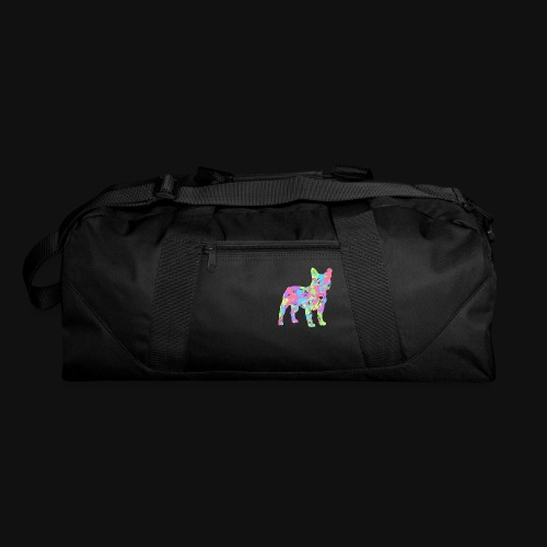 Frenchie love splatter - Duffel Bag