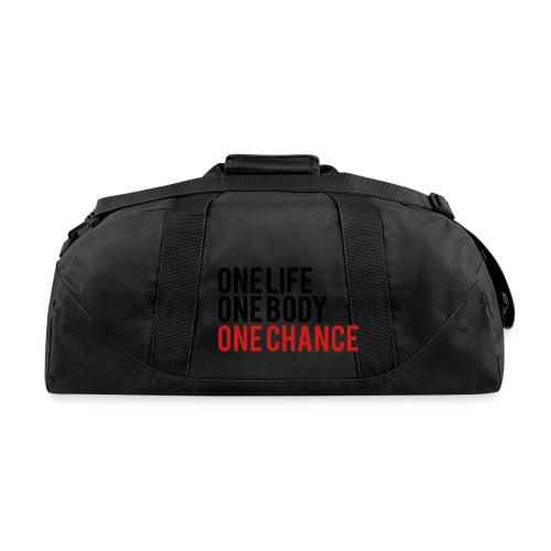 One Life One Body One Chance - Duffel Bag