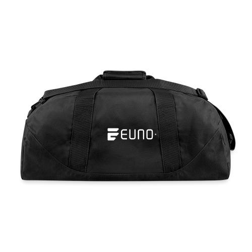 EUNO LOGO LANDSCAPE WHITE - Duffel Bag