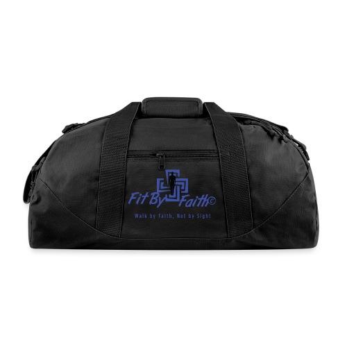 FitbyFaith back png - Duffel Bag