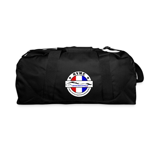 Circle logo on white with black border - Duffel Bag