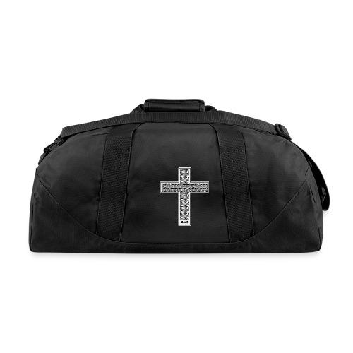 Jesus cross. I'm no longer a slave to fear. - Duffel Bag