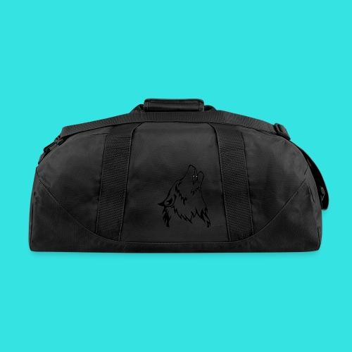 Wolf (back) - Duffel Bag