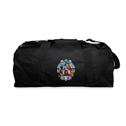 Custom Speed Shop Hot Rods and Muscle Cars Illustr - Duffel Bag