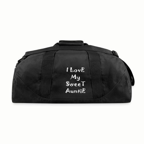 I love my sweet auntie - Duffel Bag