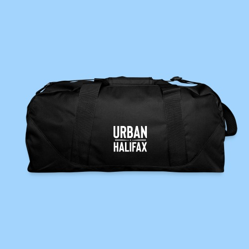 Urban Halifax logo (White) - Duffel Bag