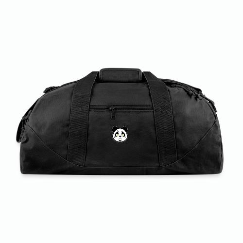 #XQZT Mascot - Focused PacBear - Duffel Bag