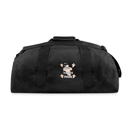 ghost hunting thing - Duffel Bag