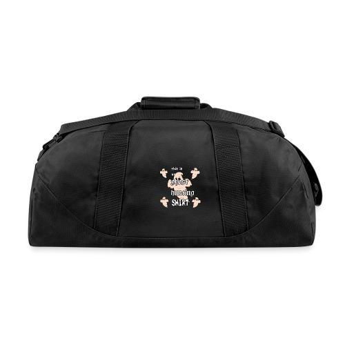 Ghost hunting shirt - Duffel Bag